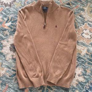 Polo by Ralph Lauren Half Zip Sweater. Size M